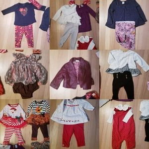 Fall and Winter Baby Girl Bundle (21+ pieces)